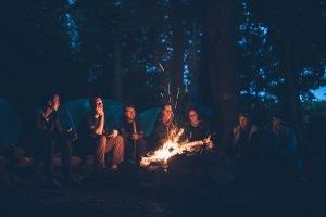 Jamie Russo campfire